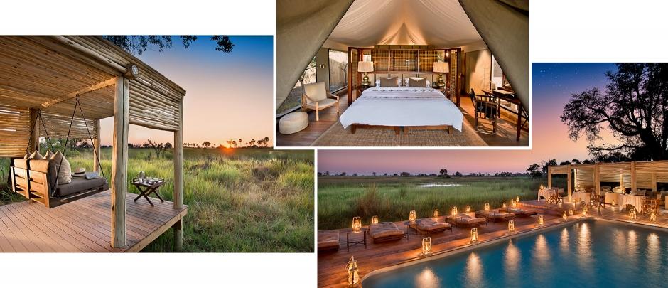 &Beyond Nxabega Okavango Tented Camp, Botswana. TravelPlusStyle.com