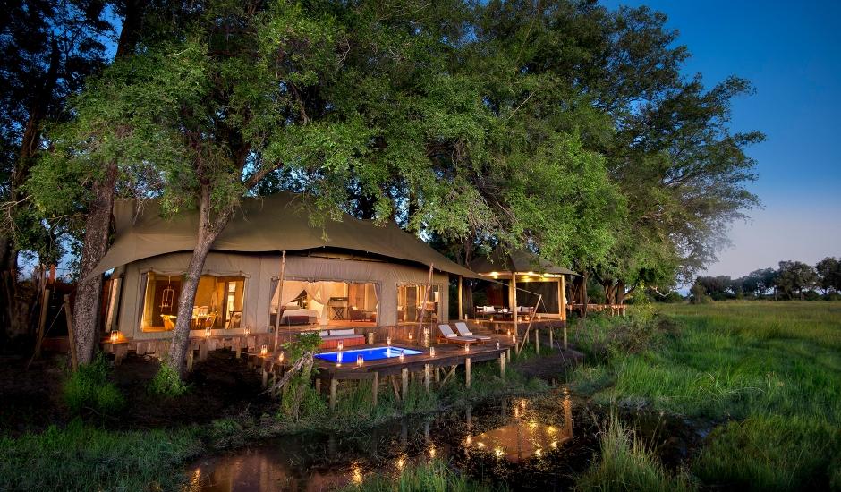Duba Plains Camp,Botswana. TravelPlusStyle.com