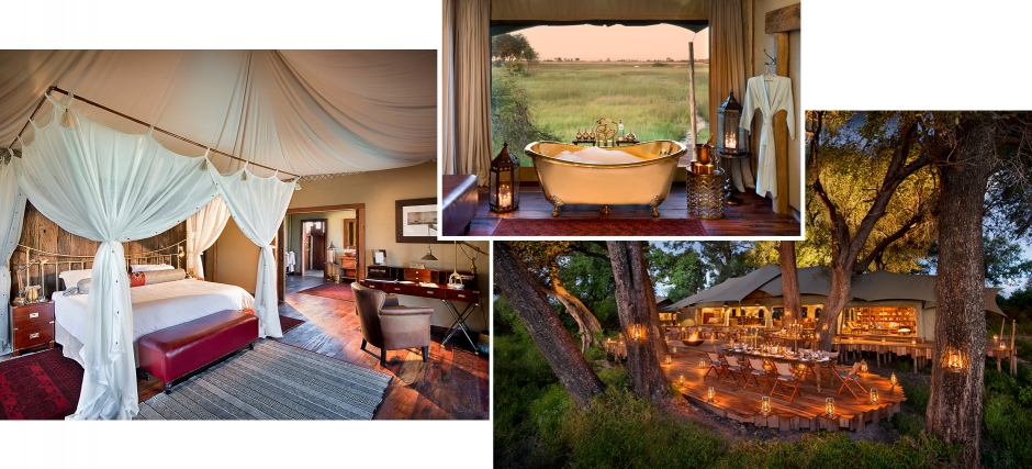 Duba Plains Camp, Botswana. TravelPlusStyle.com