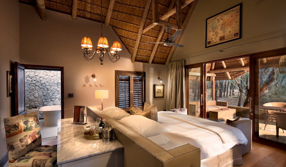 andBeyond Ngala Safari Lodge, Kruger National Park, South Africa. TravelPlusStyle.com