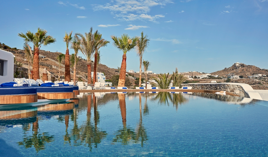 Katikies Mykonos, Greece. TravelPlusStyle.com