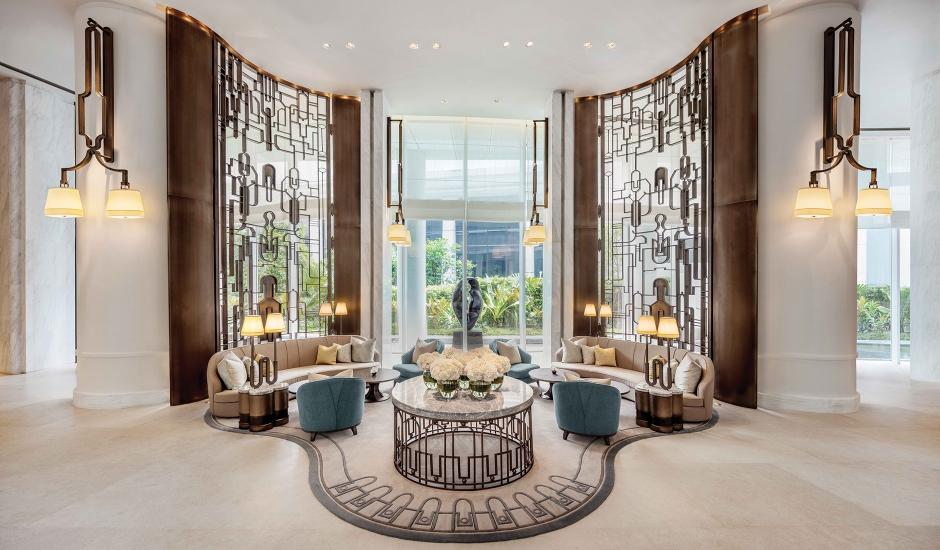 Waldorf Astoria Bangkok, Thailand. TravelPlusStyle.com