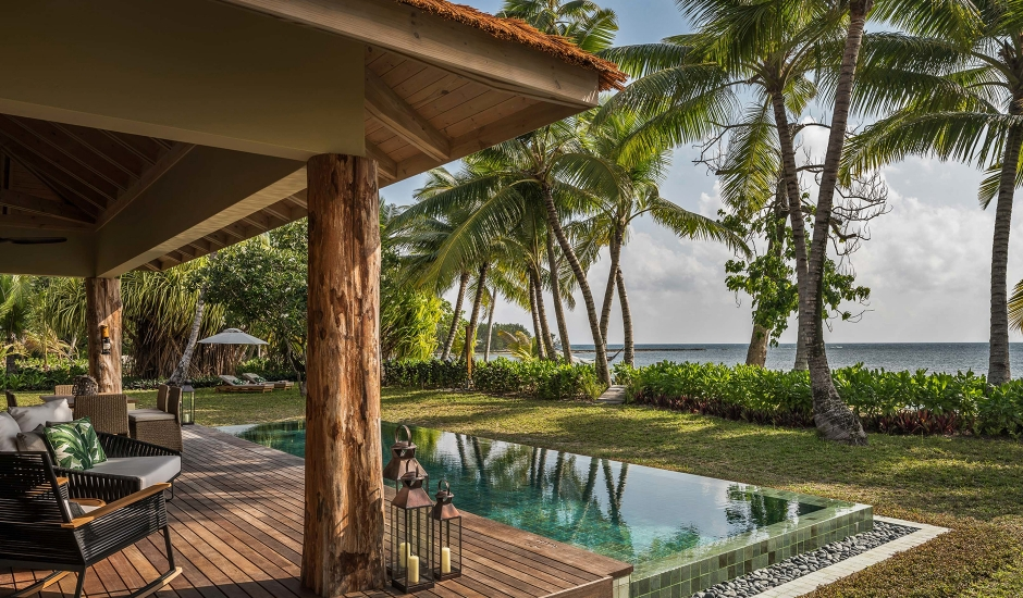 Four Seasons Resort Seychelles at Desroches Island. TravelPlusStyle.com