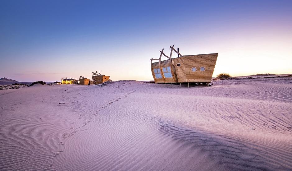 Shipwreck Lodge, Skeleton Coast, Namibia.TravelPlusStyle.com