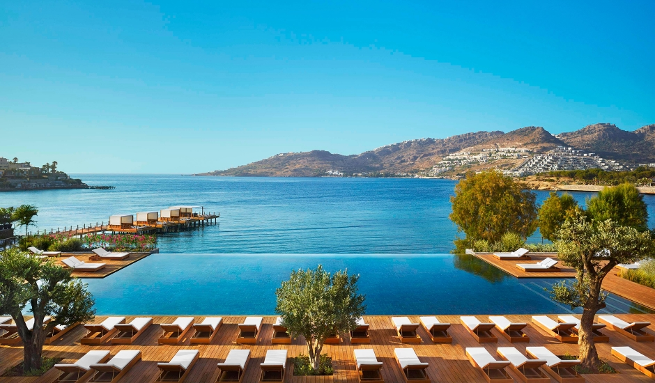 The Bodrum EDITION, Turkey. TravelPlusStyle.com