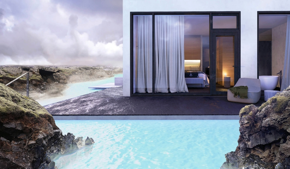 The Retreat at Blue Lagoon, Iceland. TravelPlusStyle.com
