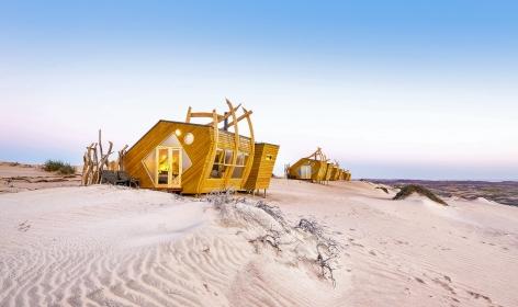 Shipwreck Lodge, Skeleton Coast, Namibia. TravelPlusStyle.com