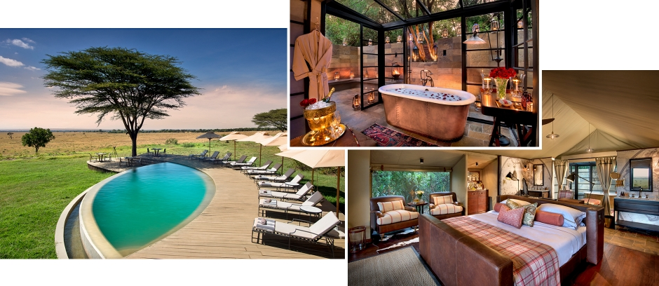 &Beyond Bateleur Camp, Masai Mara, Kenya. TravelPlusStyle.com