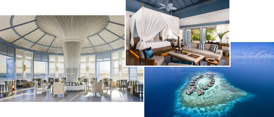 Raffles Maldives Meradhoo, Gaafu Alifu Atoll, Maldives. The Best Luxury Resorts in the Maldives by TravelPlusStyle.com