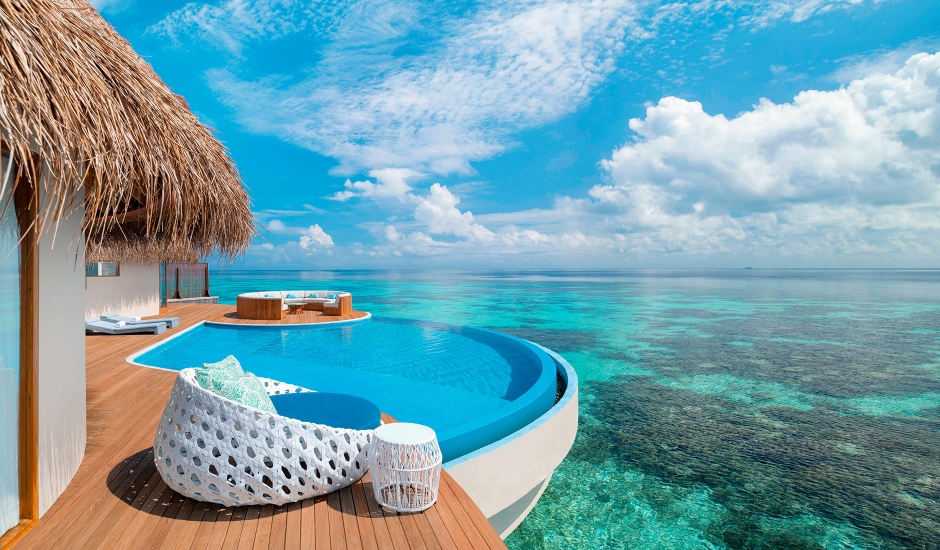 W Maldives, Fesdu Island, Maldives. The Best Luxury Resorts in the Maldives by TravelPlusStyle.com