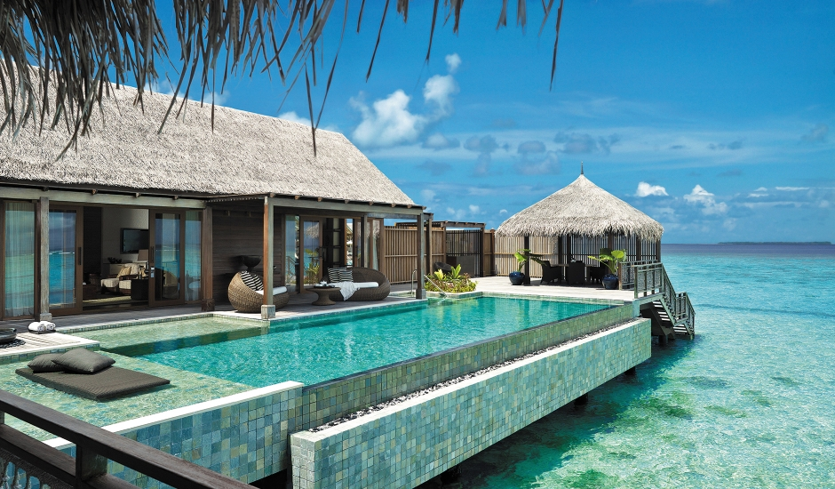 Shangri-La's Villingili Resort & Spa, Maldives. The Best Luxury Resorts in the Maldives by TravelPlusStyle.com