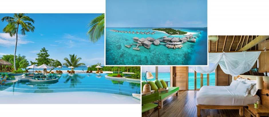 Six Senses Laamu, Laamu Atoll, Maldives. The Best Luxury Resorts in the Maldives by TravelPlusStyle.com