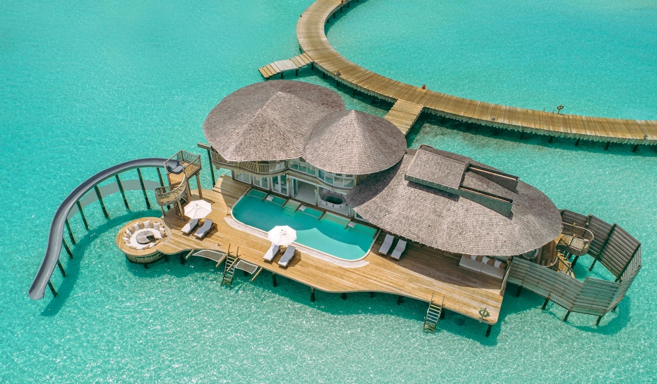 Soneva Jani, Noonu Atoll, Maldives. The Best Luxury Resorts in the Maldives by TravelPlusStyle.com