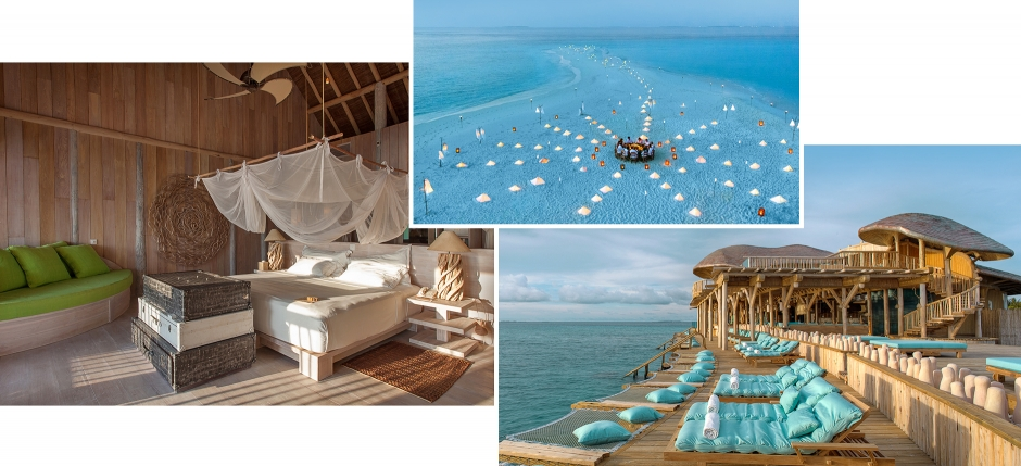 Soneva Fushi, Baa Atoll, Maldives. The Best Luxury Resorts in the Maldives by TravelPlusStyle.com