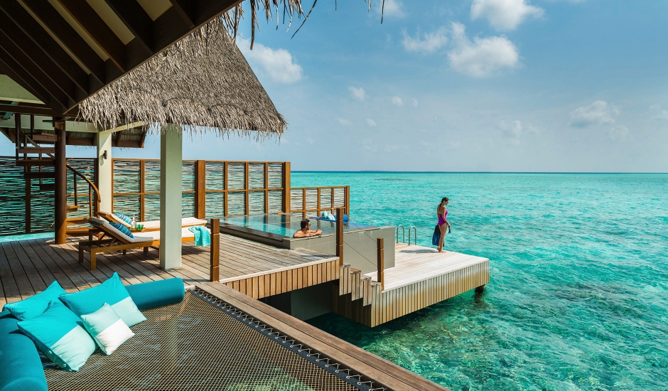 Four Seasons Landaa Giravaaru, Baa Atoll, Maldives. The Best Luxury Resorts in the Maldives by TravelPlusStyle.com