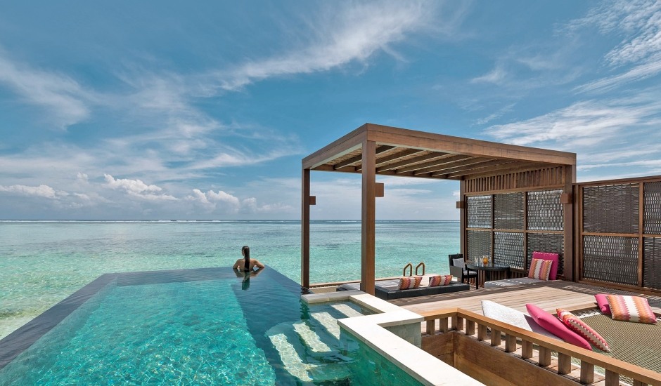 Four Seasons Resort Maldives at Kuda Huraa, Maldives. The Best Luxury Resorts in the Maldives by TravelPlusStyle.com