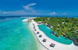 Amilla Fushi, Maldives. The Best Luxury Resorts in the Maldives by TravelPlusStyle.com