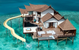 Jumeirah Vittaveli, Maldives. The Best Luxury Resorts in the Maldives by TravelPlusStyle.com