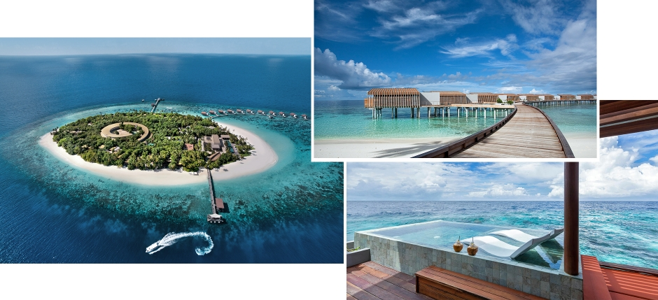 Park Hyatt Maldives Hadahaa, Maldives. The Best Luxury Resorts in the Maldives by TravelPlusStyle.com