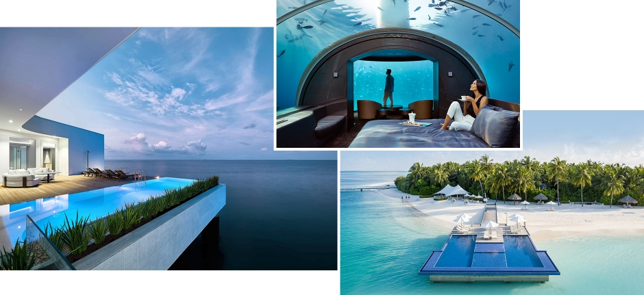 Conrad Maldives Rangali Island, Maldives. The Best Luxury Resorts in the Maldives by TravelPlusStyle.com