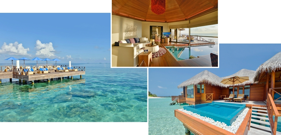 Huvafen Fushi, North Male Atoll, Maldives. The Best Luxury Resorts in the Maldives by TravelPlusStyle.com
