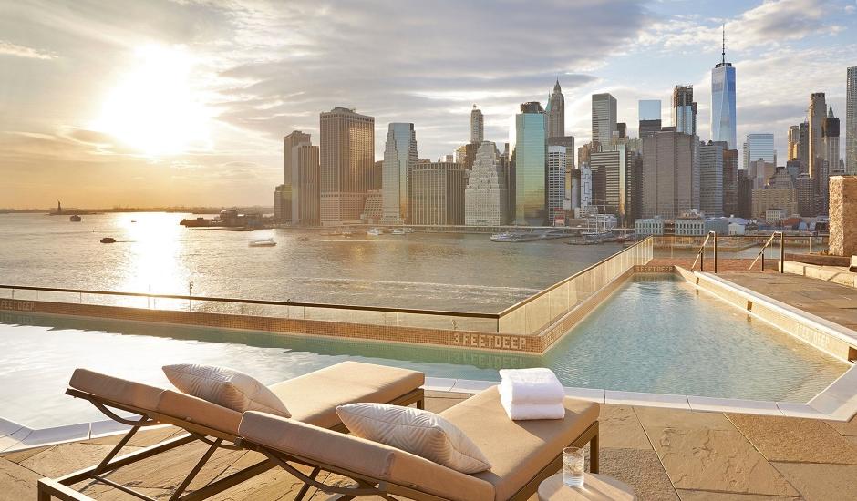 1Hotel Brooklyn Bridge, New York City, US. TravelPlusStyle.com