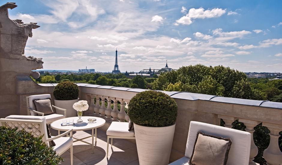 Hotel de Crillon, Paris, France. TravelPlusStyle.com