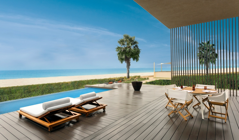 The Oberoi Beach Resort, Al Zorah, UAE. TravelPlusStyle.com