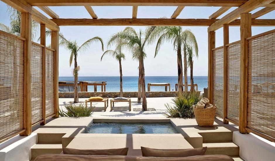 Branco Mykonos, Greece. TravelPlusStyle.com