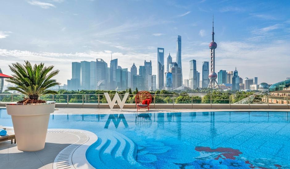 W Shanghai - The Bund, Shanghai, China. TravelPlusStyle.com