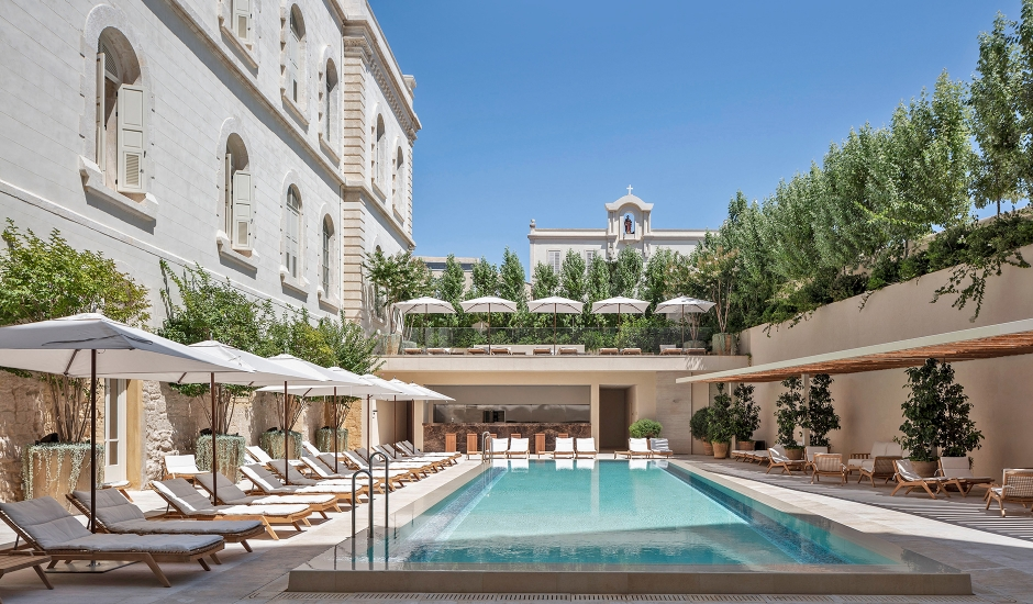 The Jaffa, A Luxury Collection Hotel, Tel Aviv, Israel. TravelPlusStyle.com