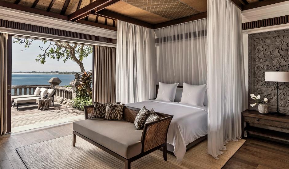 Four Seasons Resort at Jimbaran Bay, Bali, Indonesia. TravelPlusStyle.com