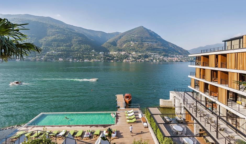 Il Sereno Lake Como, Italy. TravelPlusStyle.com