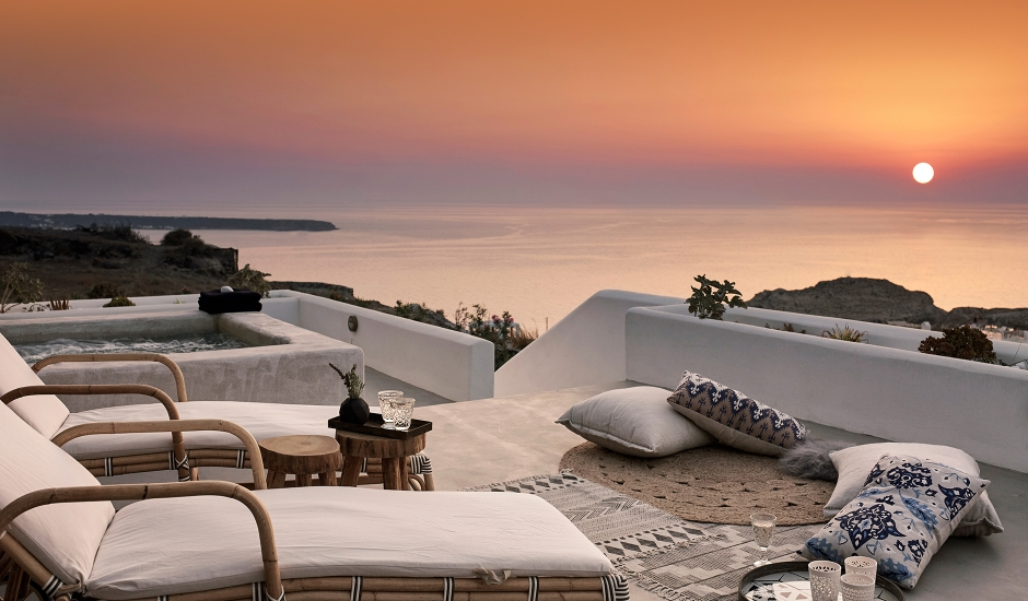 Santo Maris Oia Luxury Suites & Spa, Greece. TravelPlusStyle.com