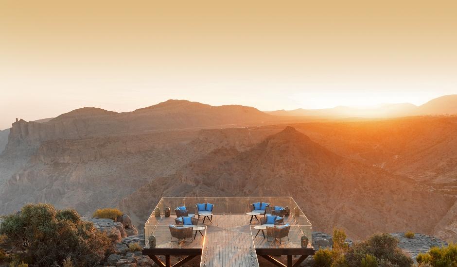 Anantara Al Jabal Al Akhdar Resort, Oman. TravelPlusStyle.com