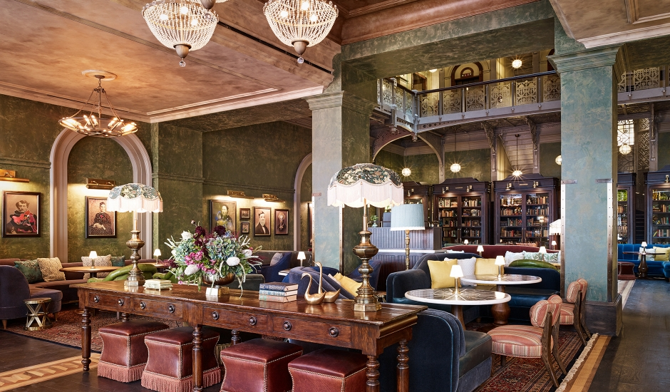 The Beekman, a Thompson Hotel, NY, US.TravelPlusStyle.com