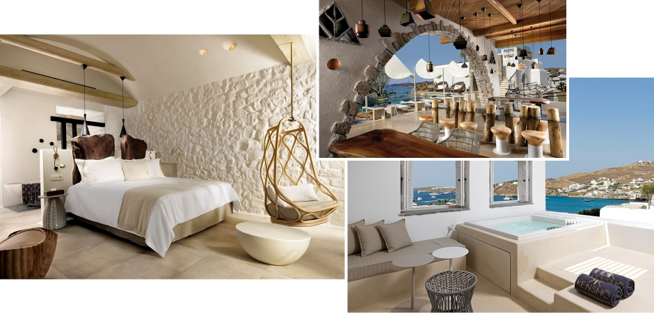 Kensho Ornos, Mykonos, Greece. TravelPlusStyle.com