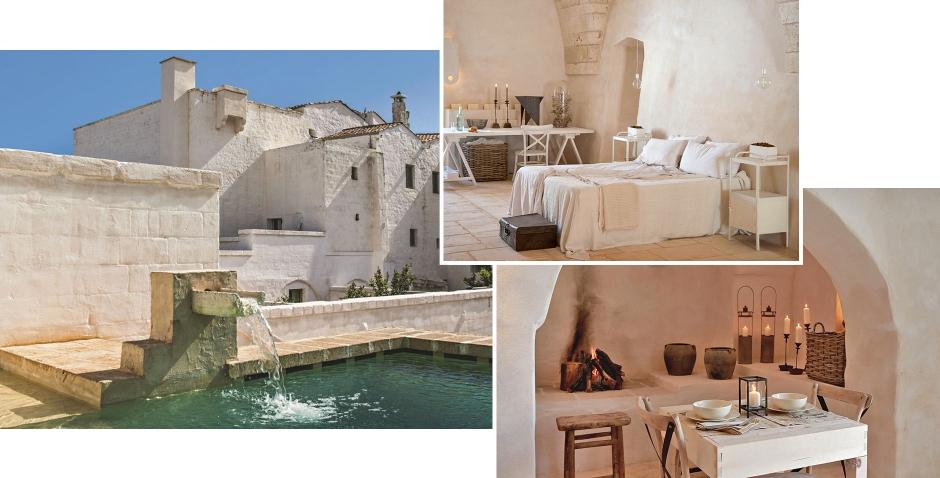 Masseria Le Carrube, Ostuni, Italy. TravelPlusStyle.com