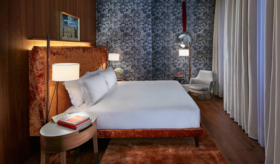 Mandarin Oriental Milan, Milan, Italy. TravelPlusStyle.com