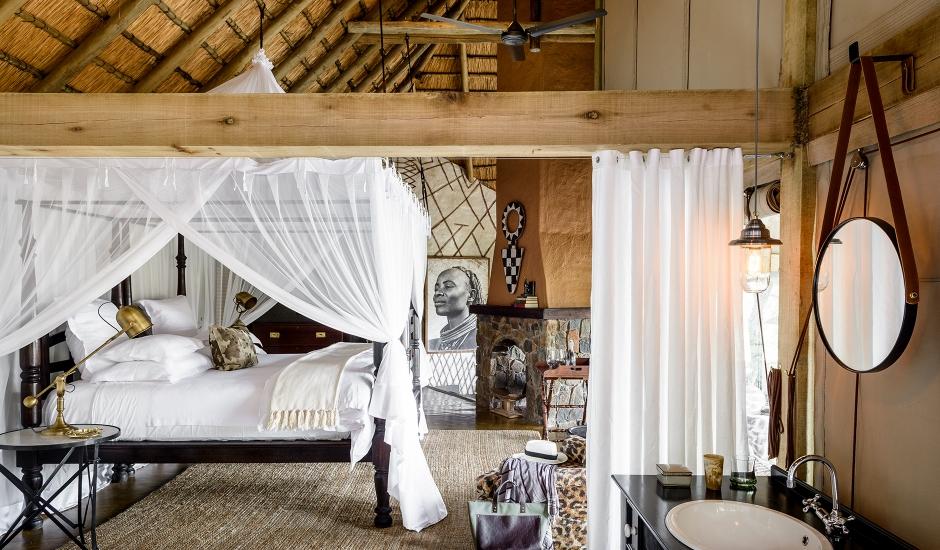 Singita Ebony Lodge, Sabi Sands Game Reserve, South Africa. TravelPlusStyle.com