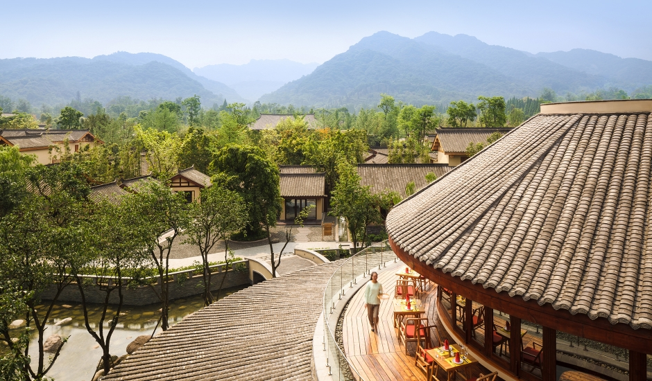 Six Senses Qing Cheng Mountain, China. TravelPlusStyle.com