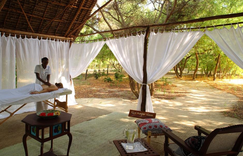 Spa © The Red Pepper House, Lamu