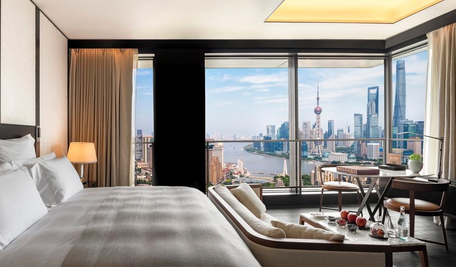 Bulgari Hotel Shanghai, China. TravelPlusStyle.com