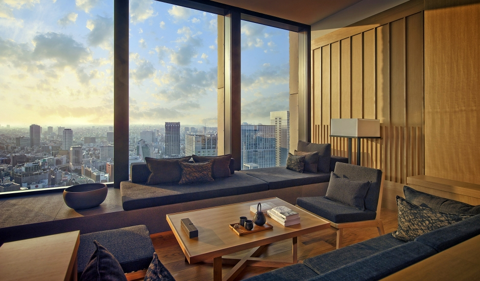 Aman Tokyo, Japan. TravelPlusStyle.com