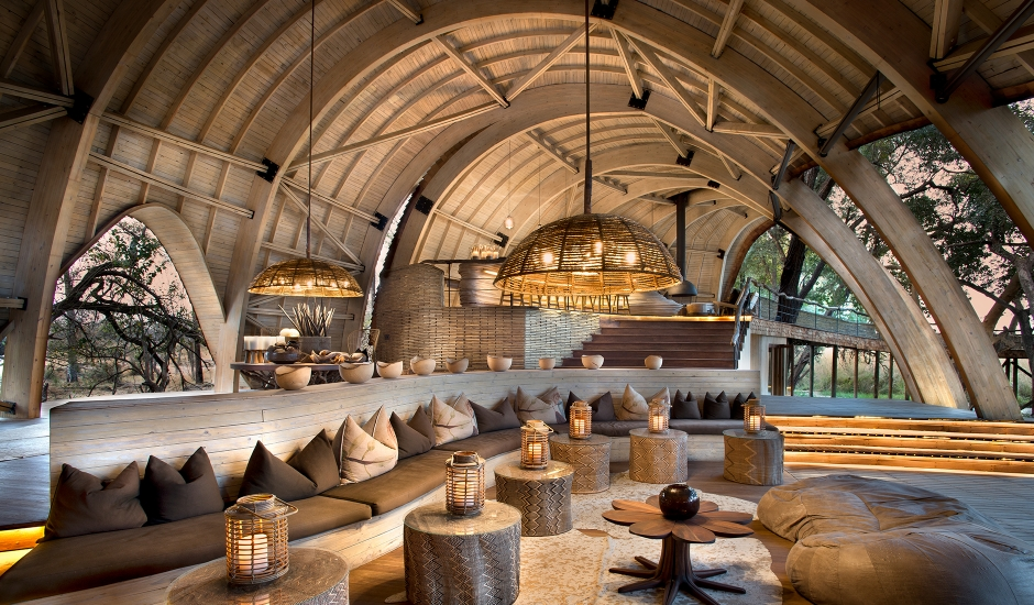 &Beyond Sandibe Okavango Safari Lodge, Botswana. TravelPlusStyle.com