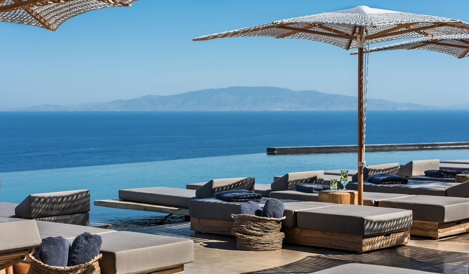 Andronis Arcadia, Oia, Santorini, Greece. TravelPlusStyle.com