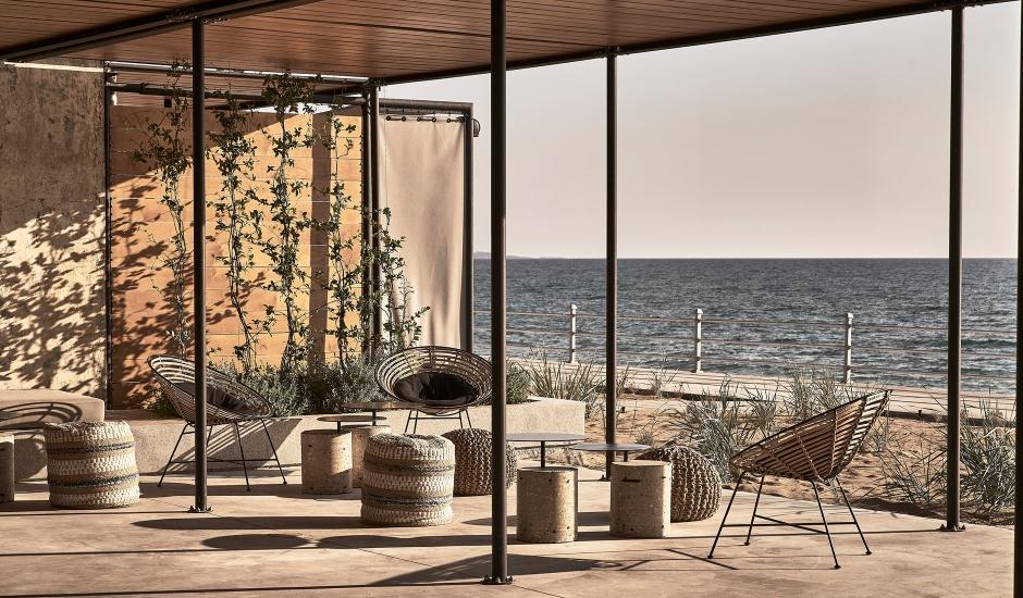 Dexamenes Seaside Hotel, Peloponnese, Greece. TravelPlusStyle.com