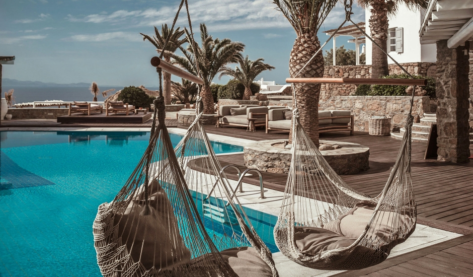 Soho Roc House, Mykonos, Greece. TravelPlusStyle.com