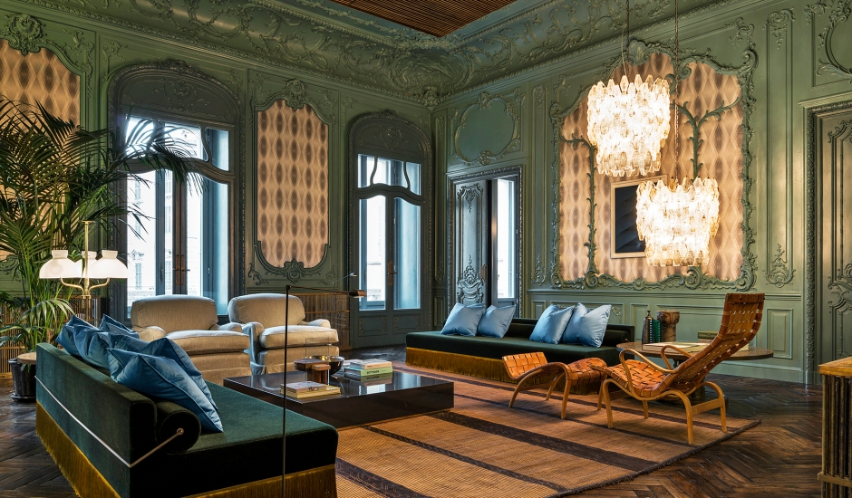 Fendi Private Suites, Rome, Italy. TravelPlusStyle.com