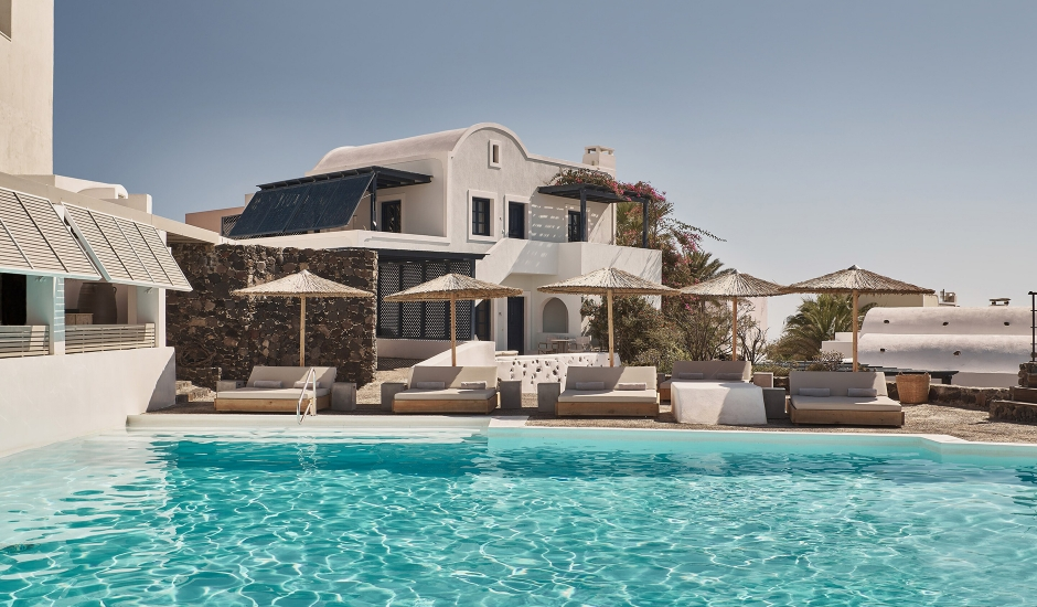Vedema, a Luxury Collection Resort, Santorini, Greece. TravelPlusStyle.com